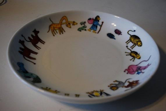 Vista Alegre Noah's Ark Children's Bowl