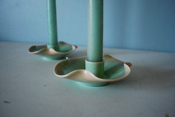 Haldeman Pottery Candle Holders