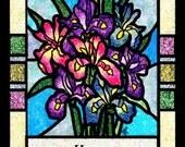 Glitter Boutique of Irises, Personalized
