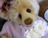 RESERVED Listing for karenng... Mohair Handmade Collectible Teddy Bear by avintageobsession on etsy