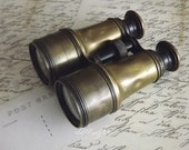 Antique French Officers Field Glasses by avintageobsession on etsy