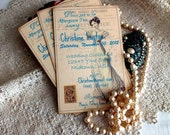 Wedding Bridal Shower Invitation Vintage Postcard Personalized by avintageobsession on etsy