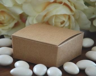 Kraft Medium Favor Boxes - Set of 10