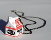 Milk Carton Necklace