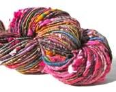 Corespun Art Yarn- Paintbox 180 yds Alpaca, Wool, Bamboo, Silk