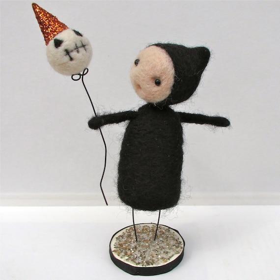 Spooky Pip Felt Doll