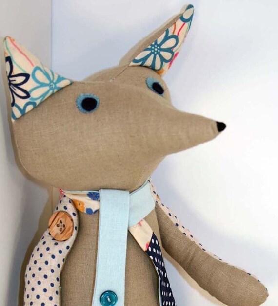 Custom Handmade Fox Toy