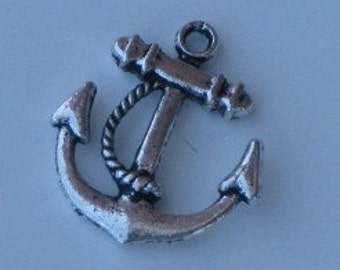 Ships Anchor Charm or Pendant