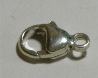 Sterling Silver 12x8 mm Lobster Clasp (1)