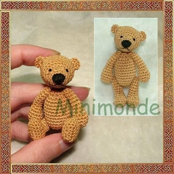 Amigurumi To Go Bear Pattern : Erwan the bear amigurumi crochet pattern