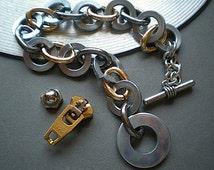 Circulosity - industrial hardware bracelet