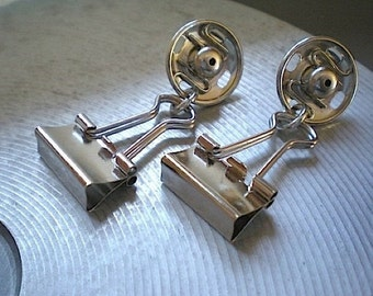 Fasten-ating revisited - hardware earrings