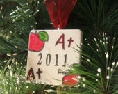 Teacher's Christmas Ornament -- Teacher Appreciation Gift - Teacher Keepsake