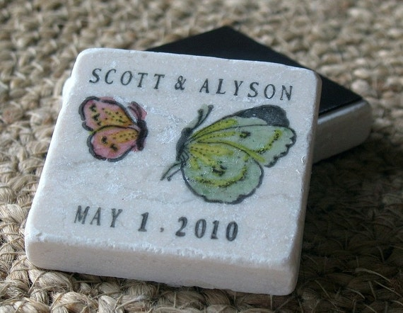 Butterfly Save the Date Magnets, Set of 25