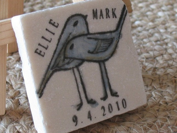 Personalized Save the Date Magnet or Party Favor Sample of One Magnet