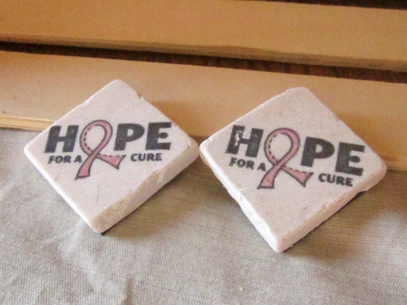 Hope for a Cure Magnets, Set of 2, Ready to Ship
