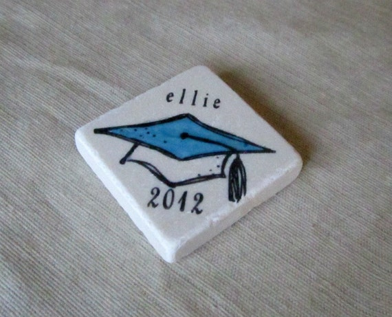 Personalized Graduation Party Favor Magnets - Set of 25