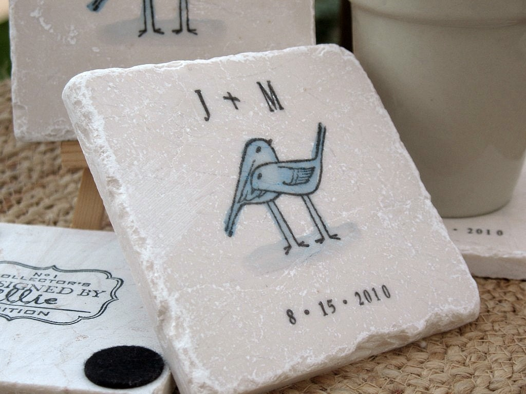 tile coaster wedding favors - 28 images - personalized coasters ...