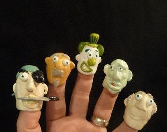 Finger Face: Vern