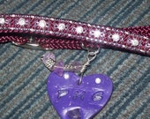 Custom made Pet collars with Personalized Bling