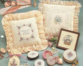 Tender Treasures - Cross stitch from Leisure Arts 22 Designs & 2 Alphabets