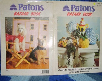 Patons Bazaar Book Over 40 ideas to make