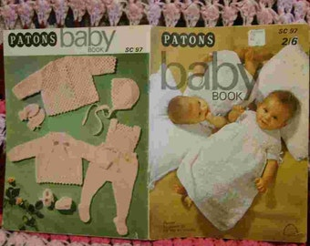 Patons Baby Book Hand Knits for the first Six Months