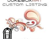 RESERVED for EScott - JukeboxART