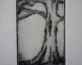 Tree 5 of 10 Drypoint
