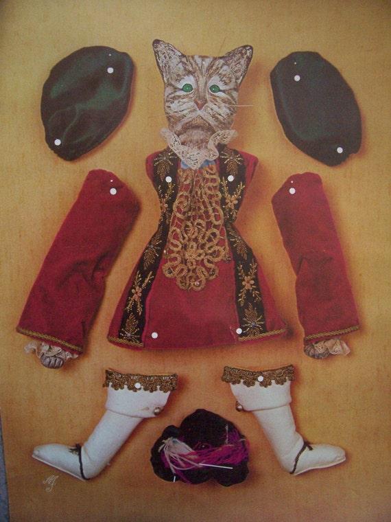 Tourrettes Sur Loup- Marionette Cat poster
