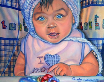 Little Valentine - I love mommy