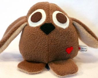Puppy Dog - Whee One - Stuffed Animal - Brown - Stuffed Toy