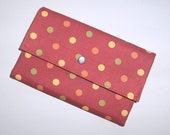 Wallet/Billfold, Card Slots, Coin Compartment - 7.5 x 5.5
