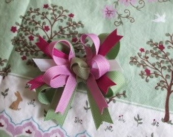 M2M Janie and Jack Orchard Harvest double-lynbows Made 2 Match