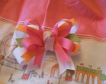 Double-lyn Bows M2M Janie and Jacks Summer Boardwalk Bow
