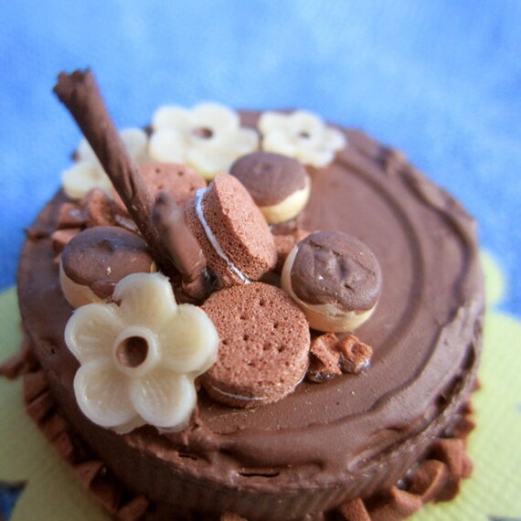 Reserved for Lazzi - Bottle Cap Cake - Chocolate Lovers