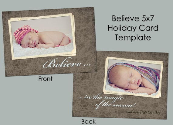 believe 5x7 christmas card template photoshop templates. Black Bedroom Furniture Sets. Home Design Ideas