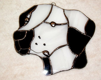 Dalmation Glass Suncatcher