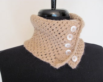 Alpaca Lace Mesh Single Cowl