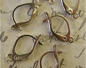 French Ear Wires (24) Plated Silver