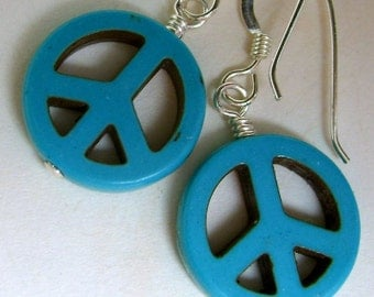 Peace, Baby... Earrings