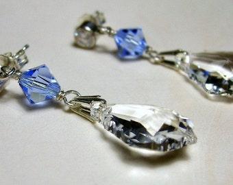 Something Blue ... Bride's Earrings