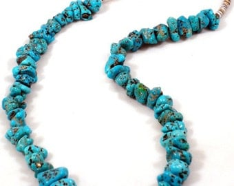 SALE!!!! Beautiful old Kingman turquoise necklace