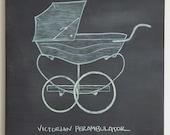 Victorian Perambulator ORIGINAL