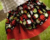 Girls skirt pattern, PDF sewing pattern, Aubrey skirt, INSTANT DOWNLOAD, size 12 months - size 8