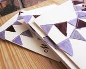 Letterpress Bridesmaid Cards RESERVED for Lindsey