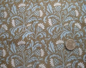 Thistle Brown Fabric, Fat Quarter, Spoonflower