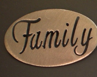 FAMILY Magnet- holds 5lbs  Fridge Locker Steel door Decorative useful small gift item