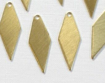 20 DIAMOND drops jewelry charms. 22mm x 9mm (S34). Please read description