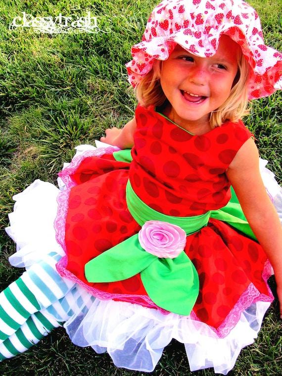 Custom Order Funky Berry Strawberry Shortcake Inspired Costume CUSTOM ORDER Melissa